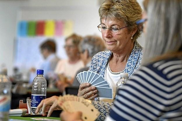 Præsident for Hjørring Inner Wheel Klub, Hanne Boel, skal ikke spille med i år. Hun skal sammen med de øvrige medlemmer sørge for alt spiller i forbindelse med afviklingen af stævnet. Arkivfoto: Michael Koch