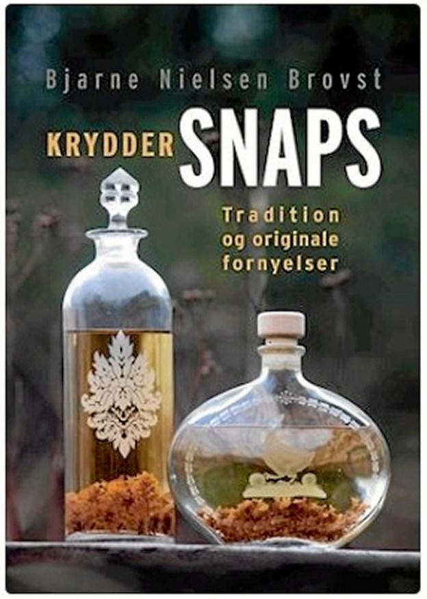 Aftenen byder på foredrag med Bjarne Nielsen Brovst, som også har sin bog 'Kryddersnaps - tradition og originale fornyelser' med. Foto: Muslingebyen Løgstør