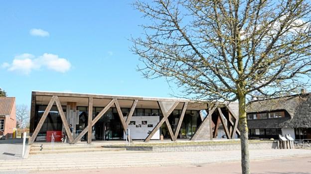 RebildPorten - en smuk bygning på toppen af Rebild Bakker. Foto: Jesper Bøss Jesper Bøss