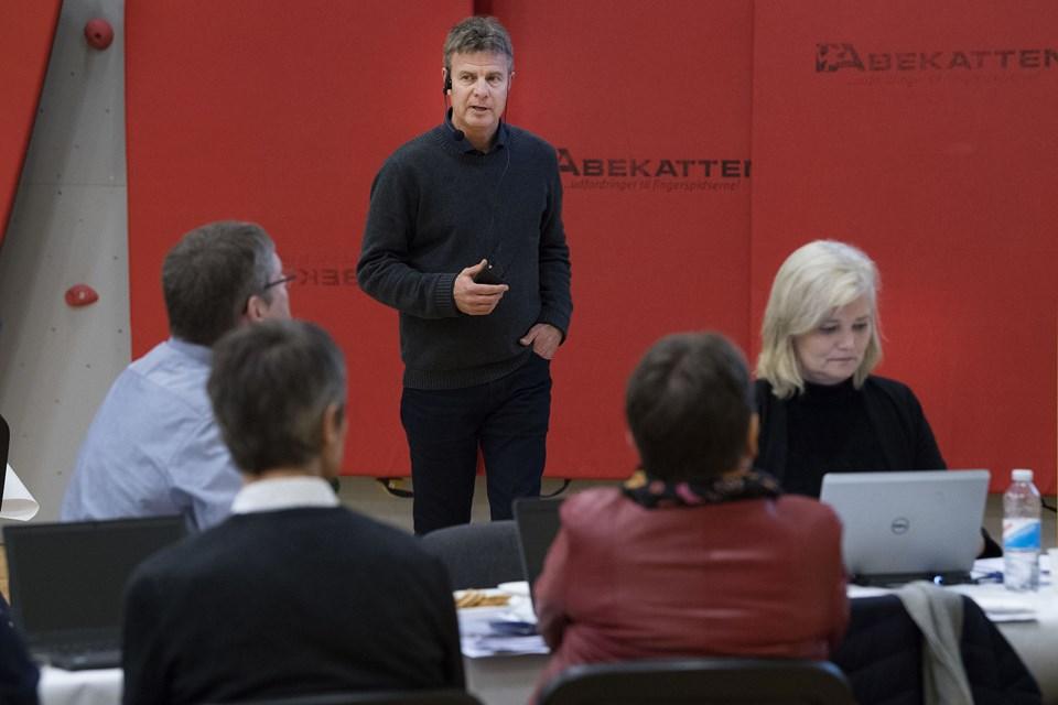 Borgermøde om udvidelse af testcenteret i Østerild.Foto: Peter Mørk