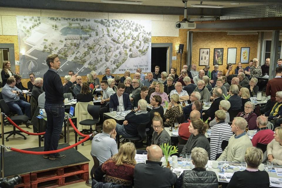 Foto: Michael Koch   Borgemøde om nyt bilogområde i Hobro ved Blåkilde