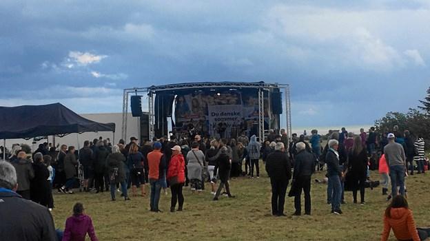 Ziddada var en af navnene til musikfesten i Sæby, som desværre ikke havde det bedste vejr til en sommerfest.