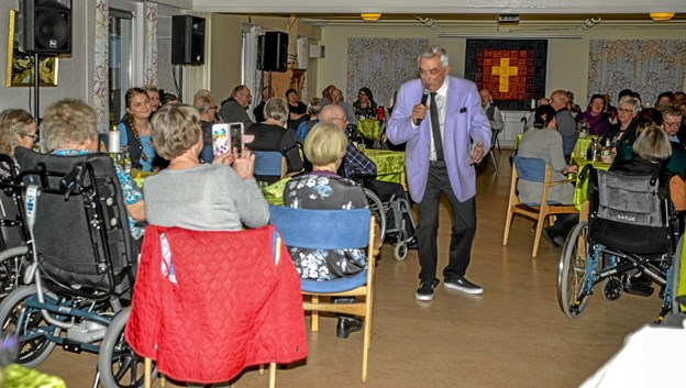 "Johnny Reimar startede sin karriere på ""Radio Merkur"" i sin tid. Foto: Mogens Lynge Mogens Lynge"