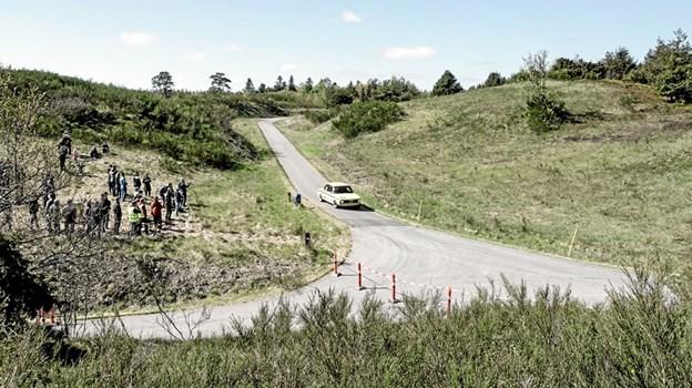 Hill Climb Rally i Tolnes kuperede terræn. Foto: Peter Jørgensen Peter Jørgensen