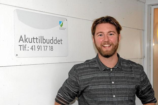 Henrik Taagaard er nyansat leder. Foto: Flemming Dahl Jensen