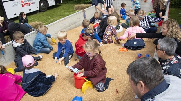 Børnene havde en fest i festen Foto: Peter Mørk Peter Mørk
