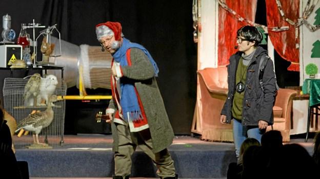 Nicolas er sikker på, at han og Theo nok skal få ram på den onde doktor Schwartz. Foto: Niels Helver Niels Helver