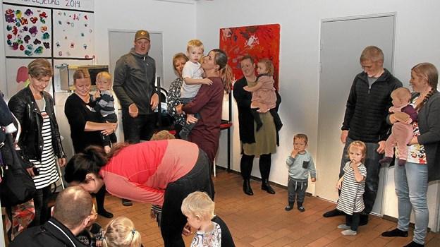 Alle forældre var mødt op til ferniseringen. Foto: Hans B. Henriksen