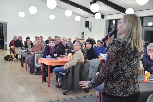 Der har været flere møder i Klitgården om Tversteds fremtid. Et nyt møde afvikles den 4. marts.   Arkivfoto: Bente Poder