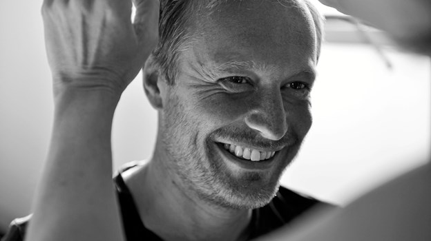 Kristian Kuch, praktiserende kropsterapeut i Hobro en gang om ugen. Privatfoto