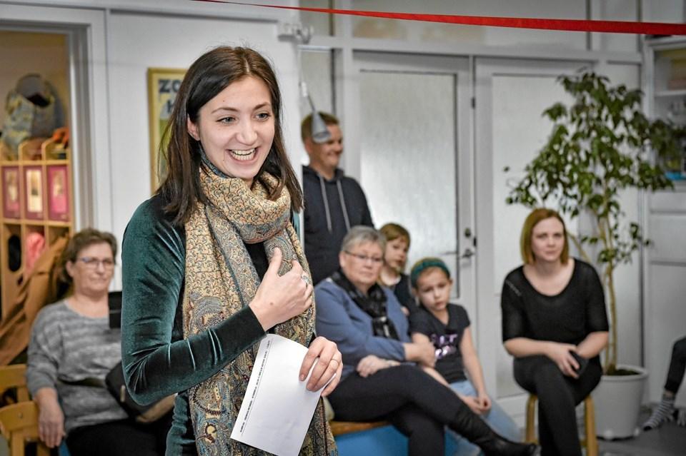 Mette Damiri, leder Sangsskolen Thy, er bare så glad for at hele to børnehaver i Thy kunne komme med i det landsdækkende projekt. Foto: Ole Iversen Ole Iversen