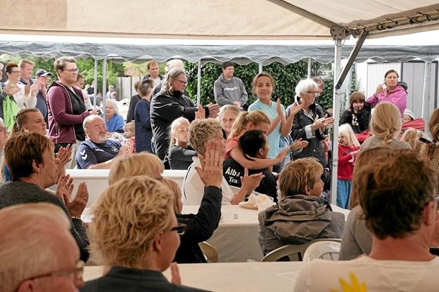Familiedag i Ålbæk er et eksempel på, at byens frivillige gør meget for børnefamilierne. Foto: Peter Jørgensen