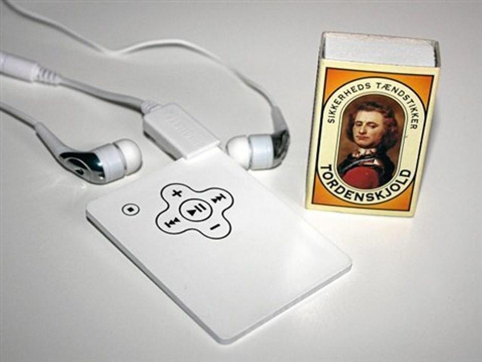 Wallet MP3: Afspilleren er mindre end et Dankort.