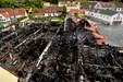 Alt er brændt - SuperBrugsen jævnes med jorden