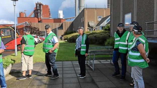 Sønderup-Suldrup Seniorer på besøg hos Rockwool i Øster Doense. Privatfoto