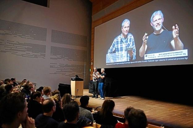 På Aarhus Universitet livestreames der fra foredrag. Arkivfoto