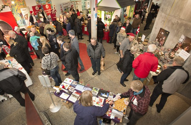 I alt 20 udstillere er klar til julemessen i Vorupør. Arkivfoto: Ajs Nielsen
