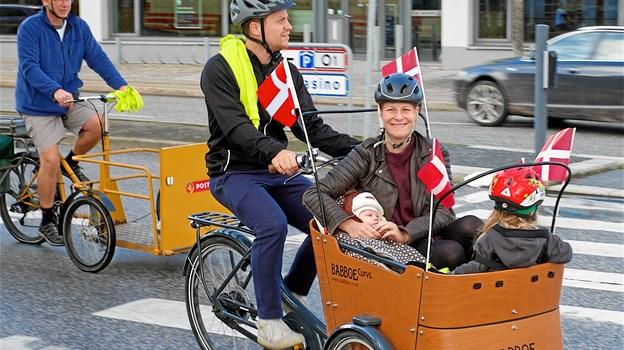 Ladcykler er generelt et populært transportmiddel særligt blandt børnefamilier. Foto: Cyklistforbundet