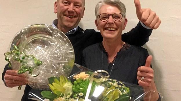 Lone  Freddy Larsen blev kåret som Årets Kop & Kande-butik.