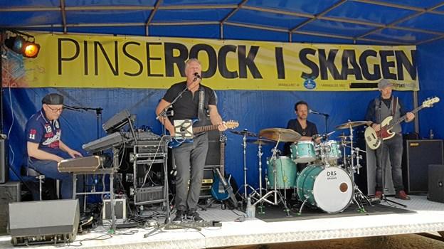 Bandet Turn Back gav publikum det de kom efter, hits fra 80´er og 90´erne. Foto: Ole Svendsen