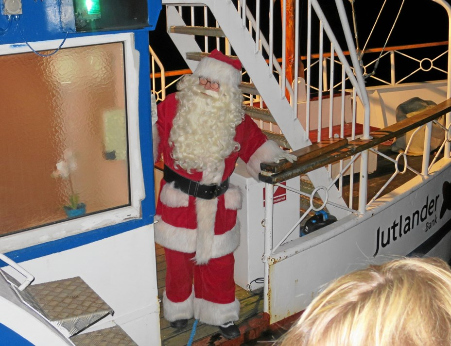 Black Friday i Hadsund med julemandsankomst