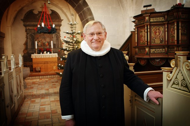 Ny konstituerede præst i Vrå Mogens Lindhardt Pedersen.   Foto Jens Morten