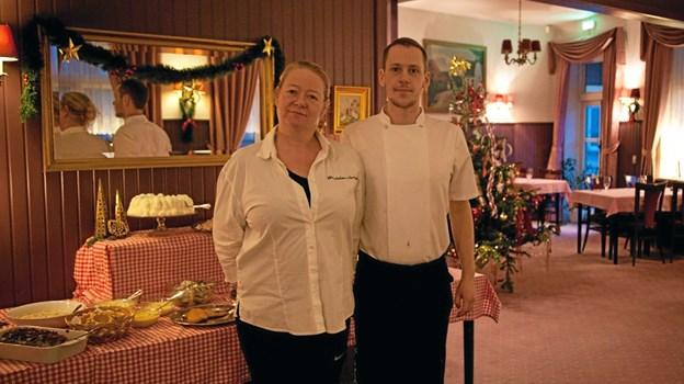 Stine Bilstrup og Andreas Busk er nu partnere i Bindslev Hotel. Foto: Peter Jørgensen Peter Jørgensen