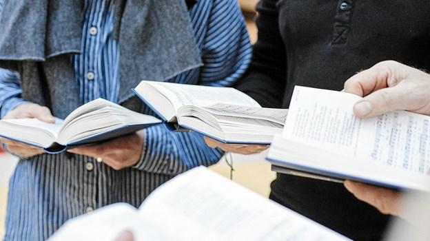 Torsdag 15. november er der højskolesang i Lyngså Kirkehus.   Foto: Svenn Hjartarson