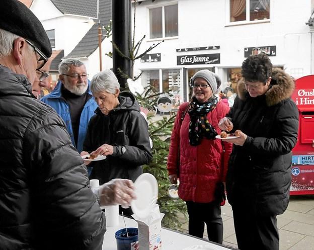 Julestemning i Hirtshals. Foto: Peter Jørgensen Peter Jørgensen