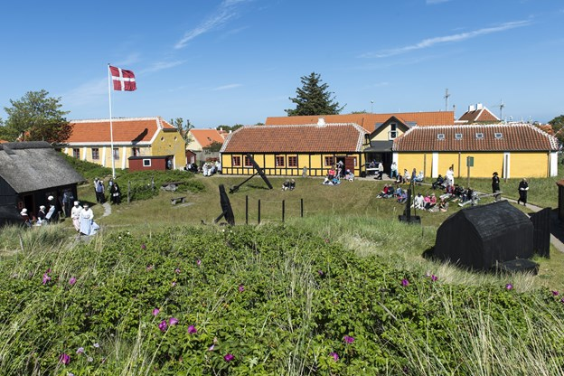 Foto fra et tidligere Egnsspil: Peter Broen