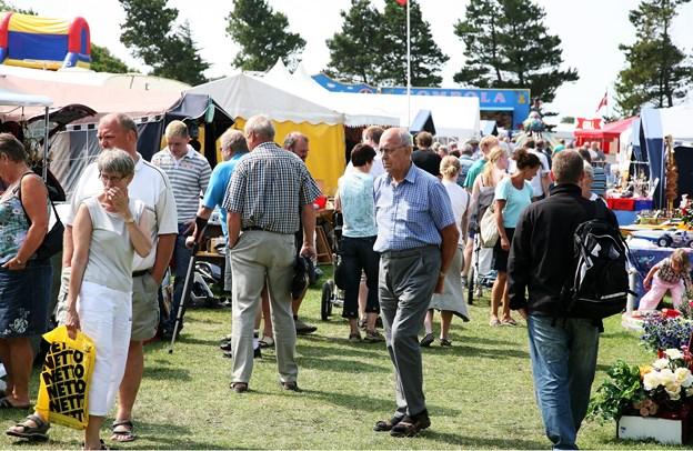 Årets Svankjær Marked finder i år sted fra fra torsdag 5. juli til søndag 8. juli. Arkivfoto