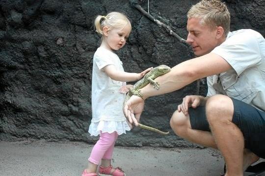 Terrariet - Reptile Zoo besøger lørdag 16. februar bibliotekerne i Hobro og Hadsund. Privatfoto