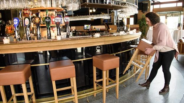Lene Pedersen er en af dem, der åbner cafeen. Peter Broen