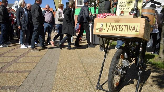 Folkene bag Nordjysk Vinfestival ser allerede frem mod næste års festival.Foto: Claus Søndberg Claus Søndberg