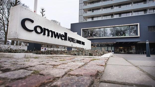 Det er her hos Comwell Hvide Hus i Aalborg, Karen Bech er uddannet. Privatfoto
