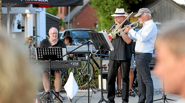 East Coast Old Stars Jazzband leverede tonerne. Foto: Allan Mortensen Allan Mortensen