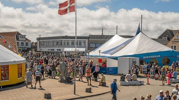 August: Hirtshals Fiskefestival blev en bragende succes med mere end 15.000 besøgende. Foto: Niels Helver Niels Helver