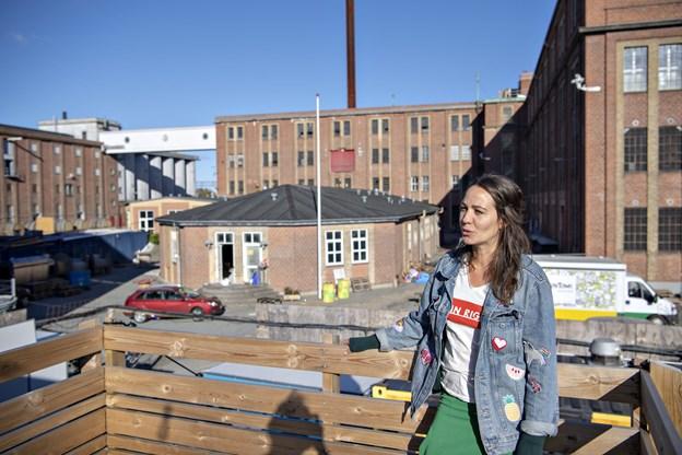 Kathrine Skovsgaard lægger vægt på, at BoxTown er et sted, hvor man kan være kreativ og netværke.