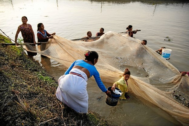 Etiopien er et af de lande, hvor klimaforandringerne giver problemer. Foto: Folkekirkens Nødhjælp.