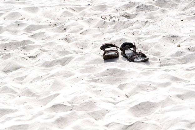 Stranden bliver allerede brugt flittigt både af lokale og folk udefra.