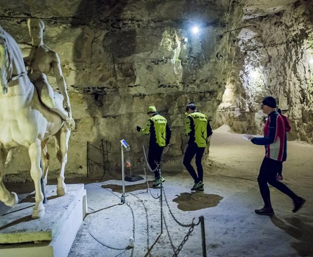For to år siden havde Rold Skov OK henlagt tømmermændsløbet til Thingbæk Kalkminer, men nu har klubben igen fundet et nyt område at løbe tømmermændene væk i. ?Arkivfoto: Martin Damgård