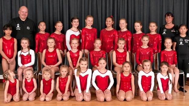 Skive Gymnastikforening er - efter en hård tid - klar til det nye år. Privatfoto.