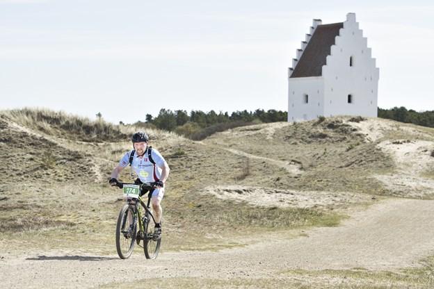 Den tilsandede Kirke i Skagen var på udflugtsplanen sidste år.