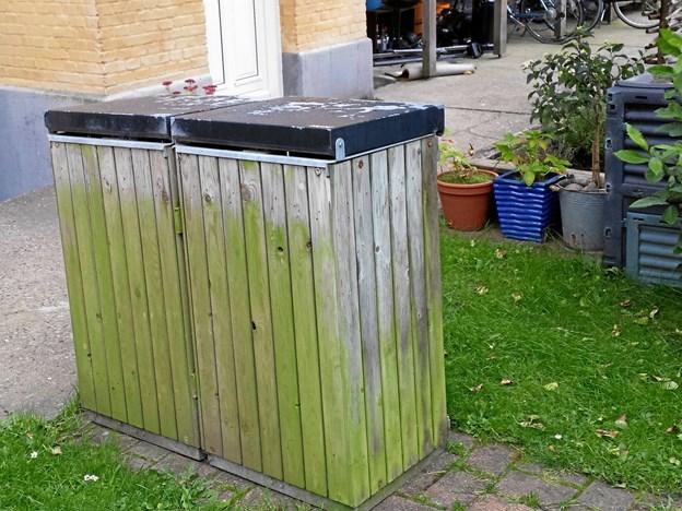 De gamle affaldsstativer vil blive fjernet i løbet af november - altså hvis man har bedt Forsyningen om det