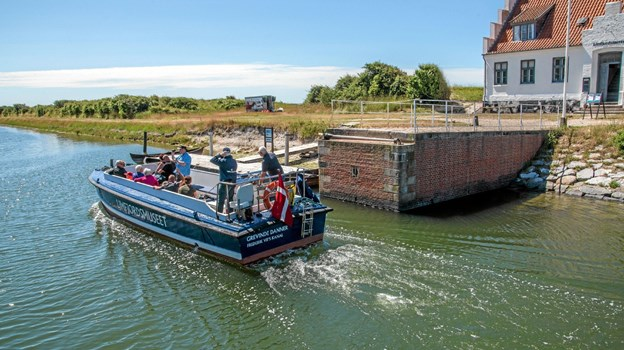 Grevinde Danner sejler to gange dagligy tirsdag, torsdag, fredag og søndag. Foto: Mogens Lynge