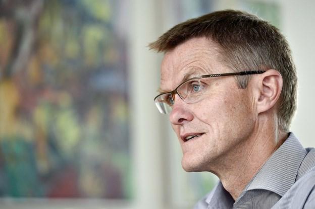 Vi vil gerne give alle DAB's aktionærer et attraktivt tilbud, og den dialog håber vi, at der bliver lejlighed til at tage i den nærmeste fremtid, skriver administrerende direktør i Spar Nord Lasse Nyby