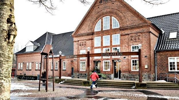 Der bliver et møde om Børns Voksenvenner på Brønderslev Bibliotek. Arkivfoto: Bent Bach