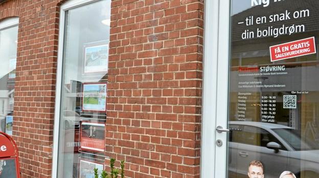 Den nye home-butik ligger i Jernbanegade i Støvring. ?Foto: Jesper Bøss Jesper Bøss