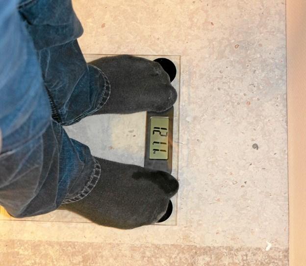 De overflødige kilo har det med at komme snigende, men dem kan taberkonkurrencen gør op med. Den blev kickstartet i Sæby Fritidscenter i søndags. Foto: Tommy Thomsen Tommy Thomsen