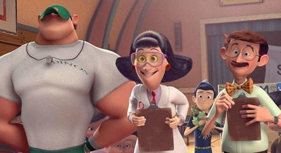 Min skøre familie Robinsson i biografen